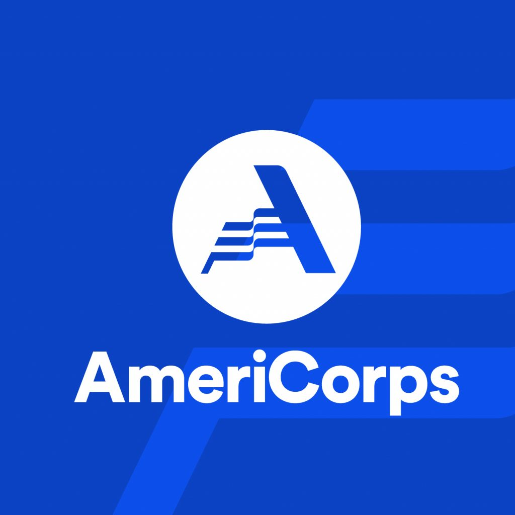 AmeriCorps logo in blue